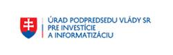 Logo Úradu podpredsedu vlády SR pre investície a informatizáciou
